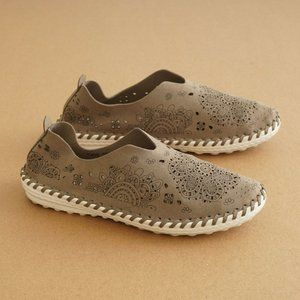 Bernie Mev Womens Slip On Sneaker Flat 38 / 7-7.5